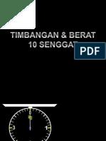 TimBerat-dacg10senggat.ppt