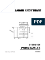 Ricoh Aficio 2035e, 2045e Parts Manual