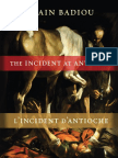 The Incident at Antioch, by Alain Badiou