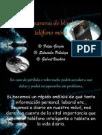 Cinco maneras de blindar su teléfono móvil.pptx