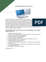 Cara Format Ulang Atau Install Ulang