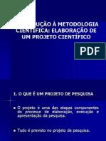 Elaboração de um Projeto Científico