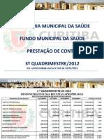 APRESENTAÇÃO 3 QUADRIMESTRE 2012-4
