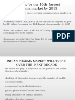 potential  of india pharmaceutical market