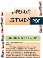 Drug Study Ppt