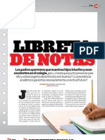 Libreta de Notas