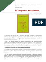 Cornelius Castoriadis Fragmentos