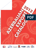 Azerbaijan Export Catalogue 2012