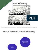 Market Efficiency Final