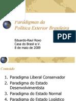 Paradigmas Da PE Brasileira Ppt