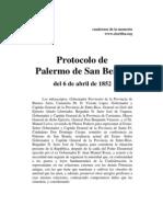 Protocolo de Palermo (1852)