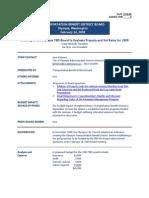 TBD EvaluateProjectsSetRatesSTF