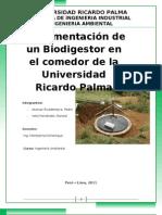 Biodigestor Ing.ambiental