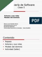 Clase 5-Actores y Modelo Del Dom
