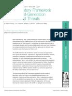 A Statutory Framework for Next-Generation Terrorist Threats