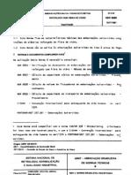 NBR 06889 - 1981 - Embarção Salva Vidas de Plástico e Fibra de Vidro