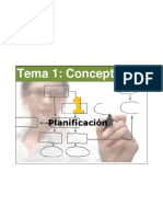 Tema 1 Concepto Planificacion