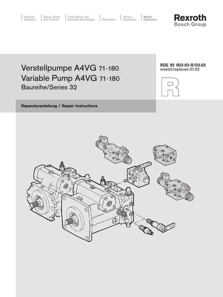 s07 pump rexroth a4vg rh scribd com Repair Manuals Service Station