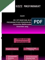 Status Gizi Masyarakat (Blok 3)