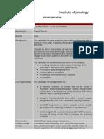 JAINpedia Education Officer - Job Specification Feb2009