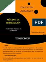 Metodos de Esterilizacion. Educ Qx