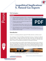 The Geopolitical Implications of U.S. Natural Gas Exports