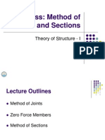 04 Truss- Method of Joints and Sections