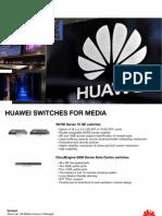 Huawei Enterprise - Media Handout - Switches