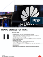 Huawei Enterprise - Media Handout - Clustered NAS