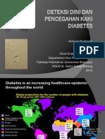 Deteksi Dini Dan Pencegahan Kaki Diabetes - Blitar 2010