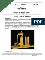 Filtrado a Granel de Combustibles - Sistema CAT