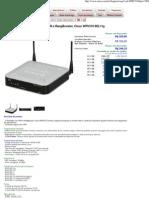 Roteador Com VPN e RangBooster, Cisco WRV210 802.11g