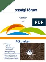 Körzeti lakossági fórumok 2013