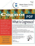 COGNOSCO, Brain Care Centre Newsletter