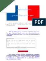 Pronunciacion Frances