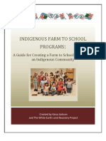 Indigenous Farm to School Manual by WELRP and Kaisa Jackson