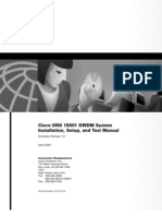 15801 DWDM System Installation, Setup, and Test Manual.pdf