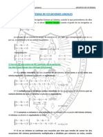 Apuntes Sistemas de Ecuaciones