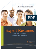 Sample Resume Book - Over 200 Different Careers!