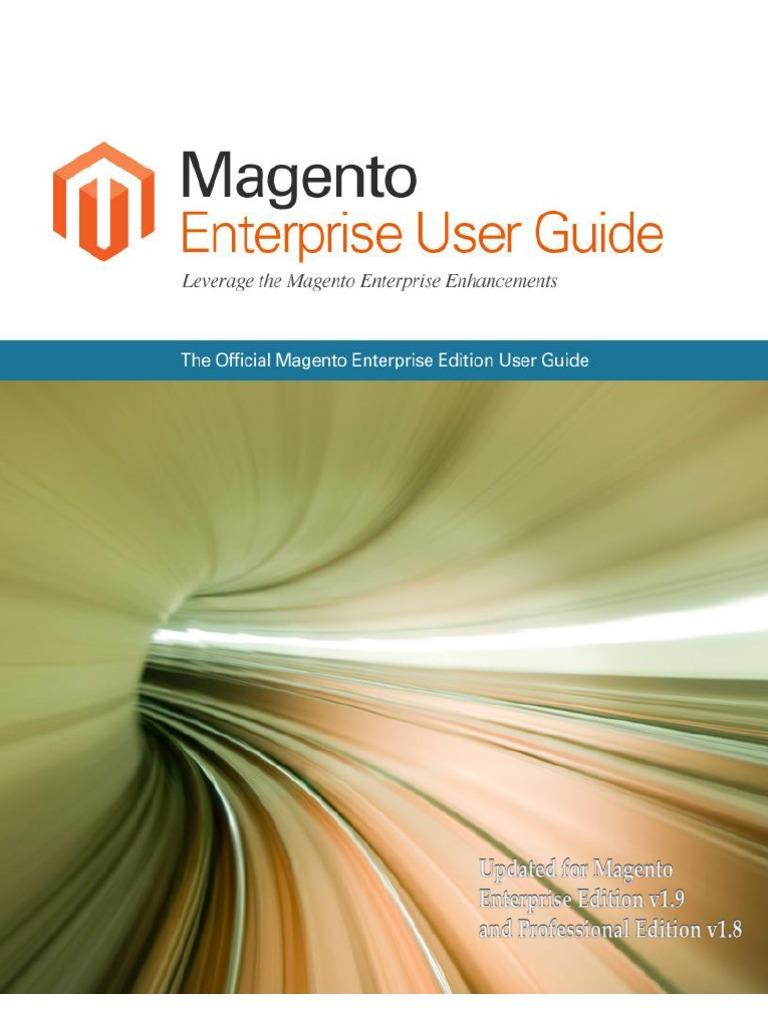 magento 1 9 enterprise user guide magento websites rh scribd com magento user guide pdf magento user guides
