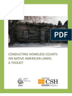 Conducting Homeless Counts on Native American Lands