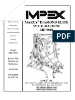 IMPEX MARCY DIAMOND ELITE SMITH MACHINE