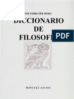 Ferrater Mora - Dicc de Filosofia Q