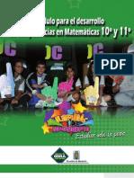 Módulo matematicas 10-11  archivo digital