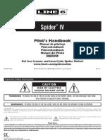 Spider IV Pilot's Guide - English ( Rev E )