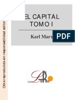 Karl Marx - El Capital I