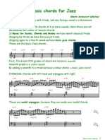 Basic Jazz Chords (PDF)