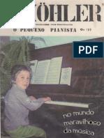 ORGAO - MÉTODO - O Pequeno Pianista - L. Kohler - Opus 189[1]