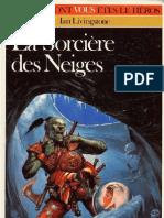 Defis Fantastiques 09 - La Sorcière des Neiges