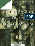 Karl Weintraub - La formación de la individualidad